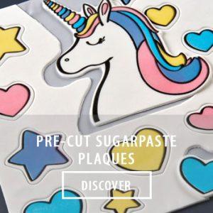 precut sugarpaste