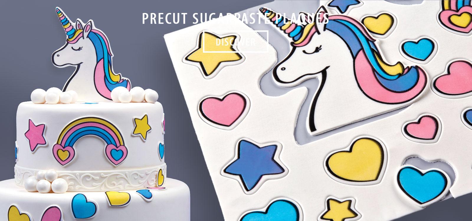 pre cut fondant, pre cut sugarpaste
